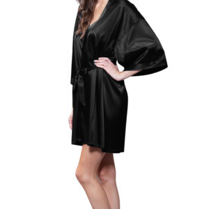 black-satin-women-short-robe
