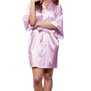 lavender-satin-women-short-robe
