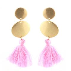 gold thread pink