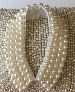 Pearl Collar on Pillow